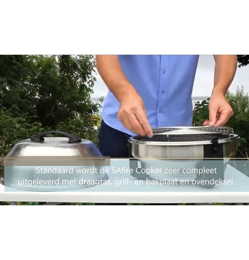 safire cooker barbecue