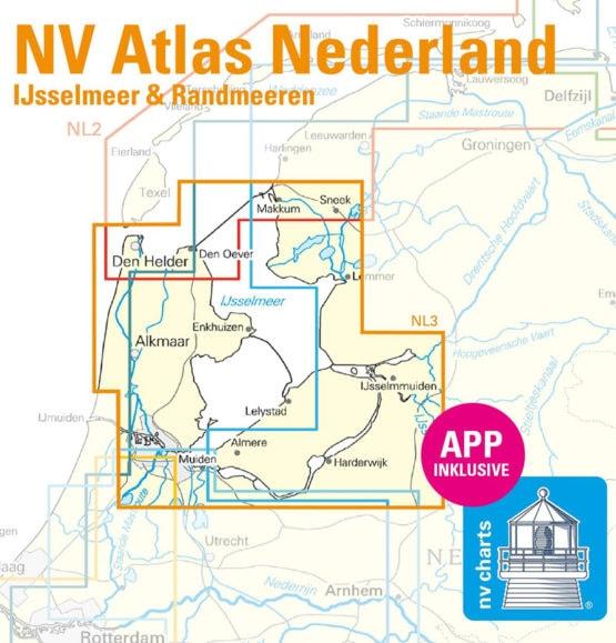 NV Atlas NL3 IJsselmeer en Randmeren