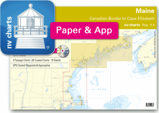 NV-Verlag-Seekarten-Sportbootkarten-Maine-Canadian-Border-to-Cape-Elizabeth-mit-App-Karten-zum-sofort-Download_3264