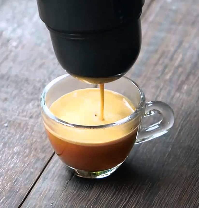minipresso espresso