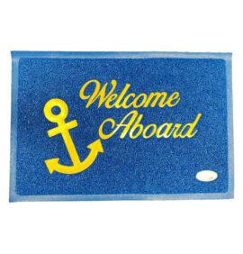 Deurmat Boot Welcome aboard