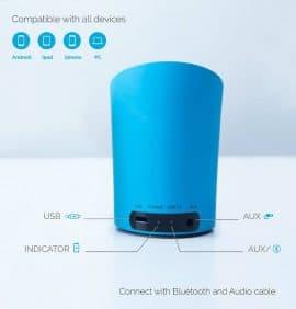 le pow modre bluetooth speaker