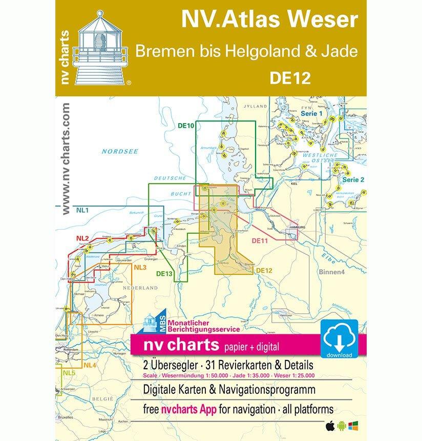 NV Atlas Vaarkaart DE12 Duitsland