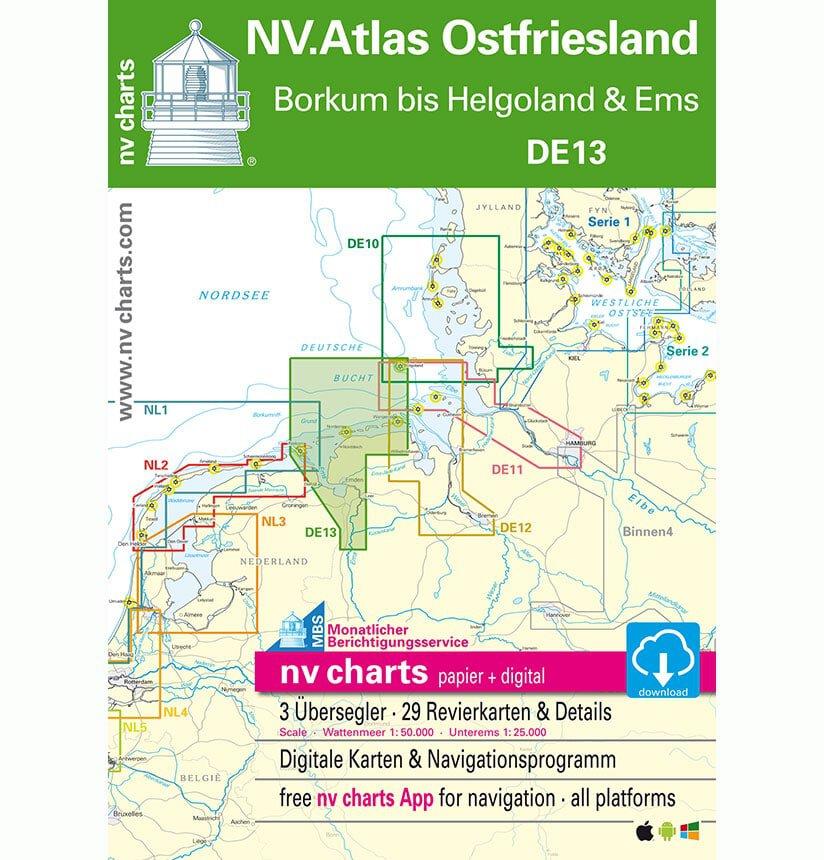NV Atlas Vaarkaart DE13 Duitsland