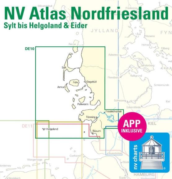 NV Atlas DE10 Nordfriesland Sylt Helgoland Eider