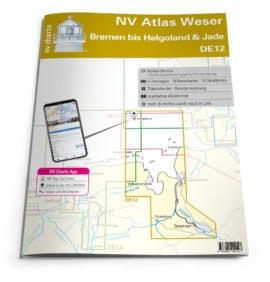 NV Atlas DE12 Duitsland Bremen Helgoland Jade
