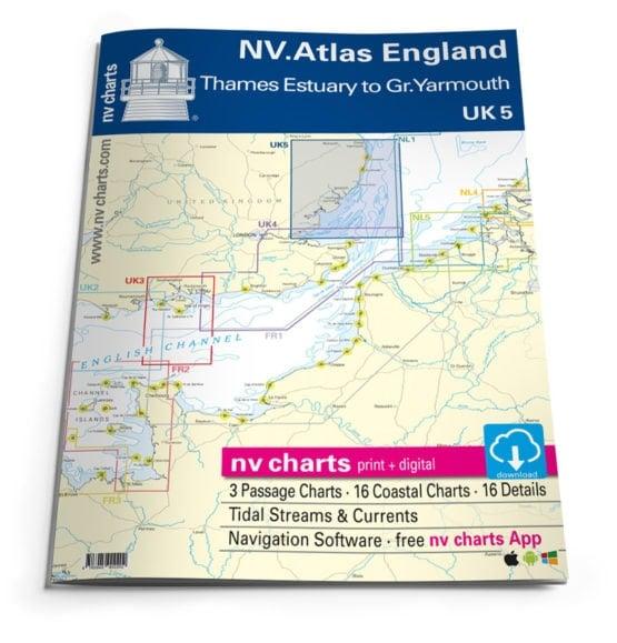 NV Atlas UK5 Engeland Thames Great Yarmouth
