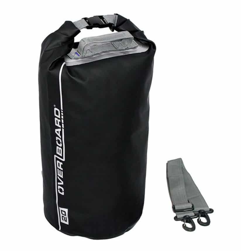 dry bag overboard 20 liter zwart