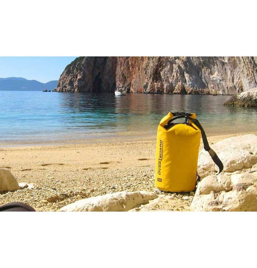 dry bag overboard