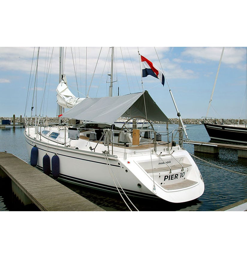 kuiptent awning blue performance