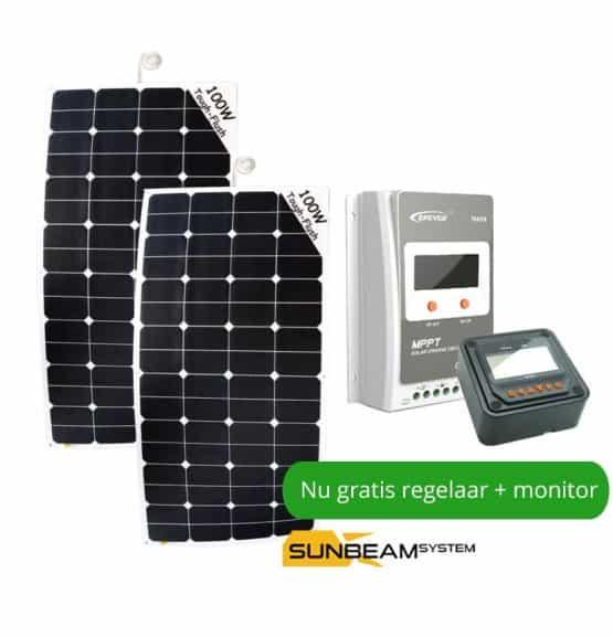 sunbeamsystem zonnepaneel boot 100 watt
