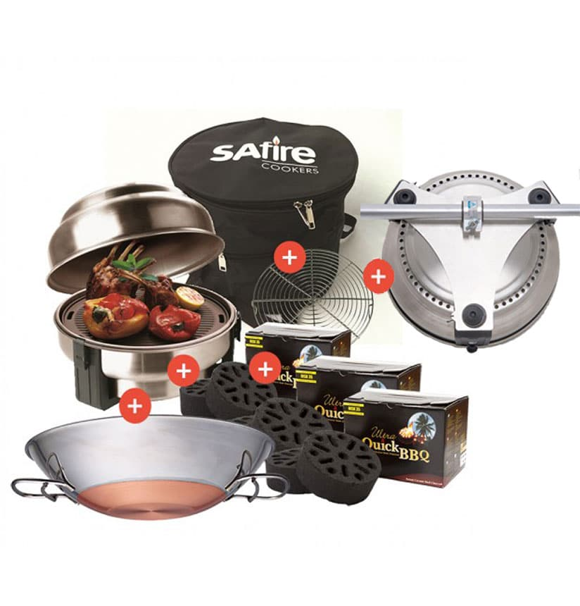 safire starterspakket wok bootsteun