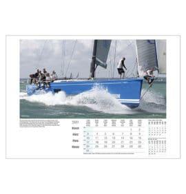 beken sailing action zeilkalender 2019 2