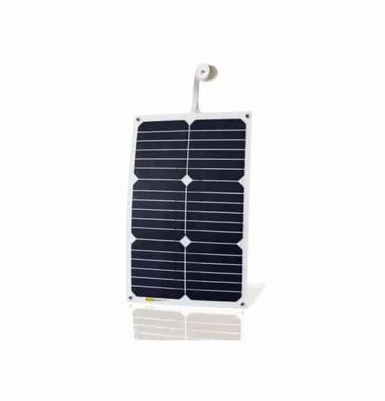 18 watt zonnepaneel boot