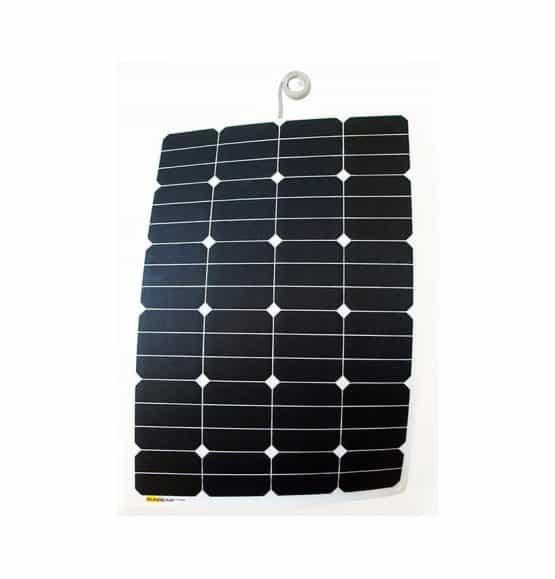 zonnepaneel voor de boot met antislip 70 watt