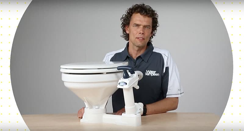 toilet boot ontstoppen