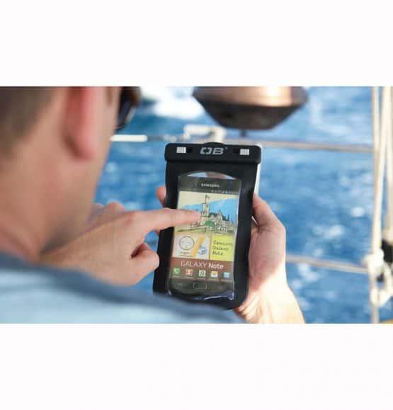 waterdichte smartphone case overboard