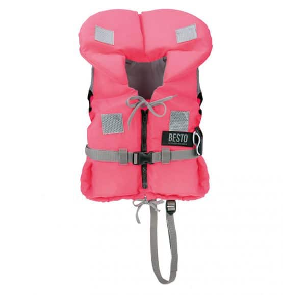 besto kinderreddingsvest roze