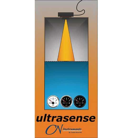 tankzender ultrasense gever ultrasoon