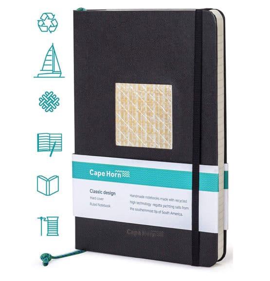 notebook cape horn sails