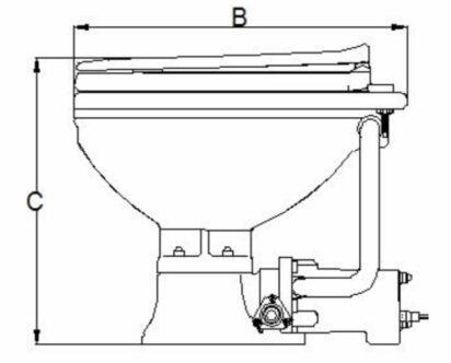 New Elektrisch Boot Toilet Nuova Rade - Sailspecials EK24