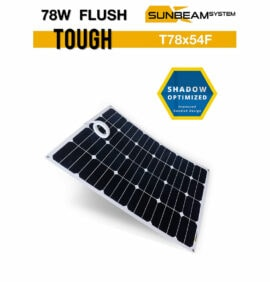 SUNBEAMsystem Tough 78 watt Flush Black