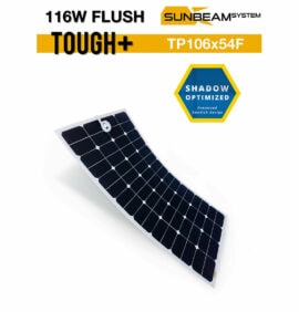 SUNBEAMsystem Tough+ 116 watt Flush