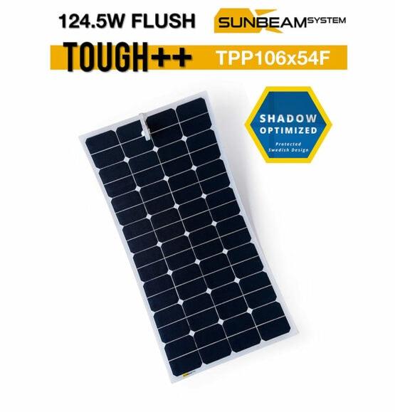 tough++ zonnepaneel 124,5 watt sunbeamsystem
