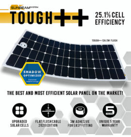 tough++ zonnepaneel 124,5 watt sunbeamsystem