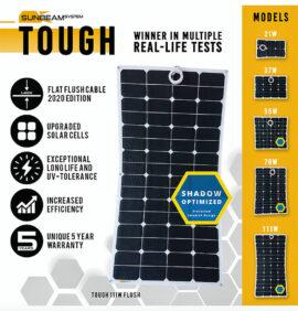 tough sunbeamsystem beloopbaar zonnepaneel