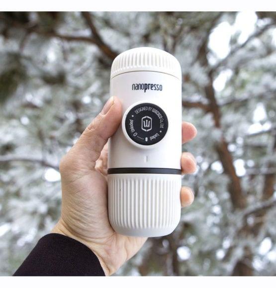 nanopresso chill white espresso