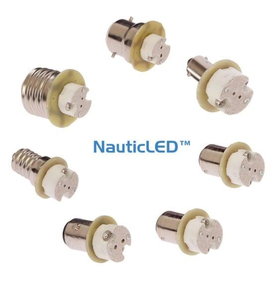NauticLED G4 fitting adapter
