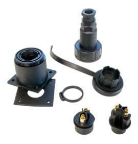Waterdicht Stopcontact opbouw 2-polig